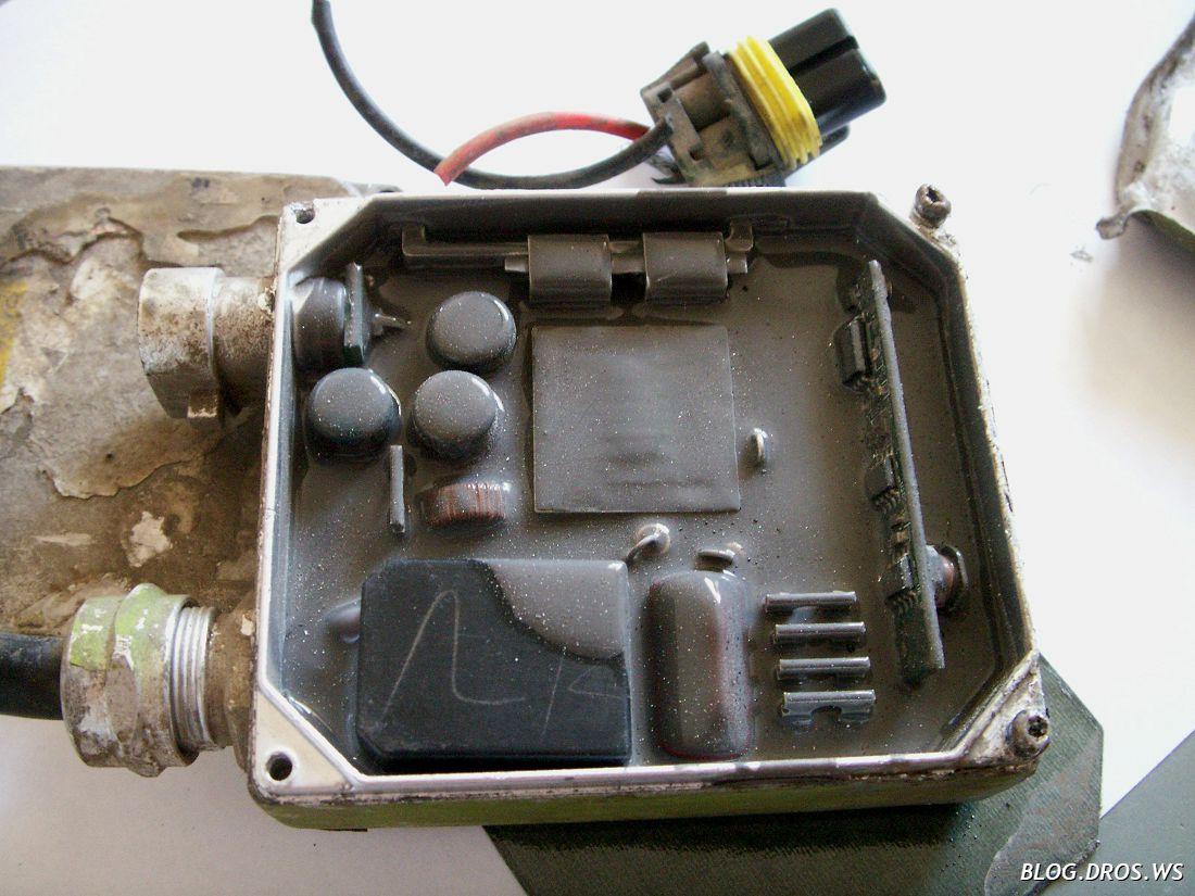 Блок розжига для ксенона ремонт своими руками