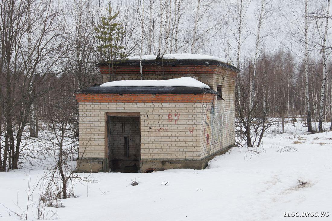 Здание насосной станции одной из скважин