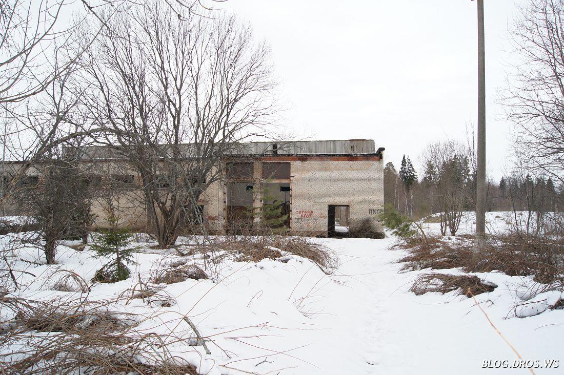 Здание насосной станции