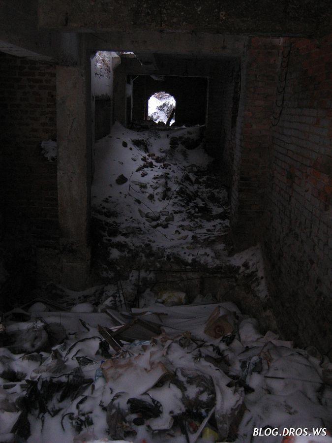 Подвал под котельной